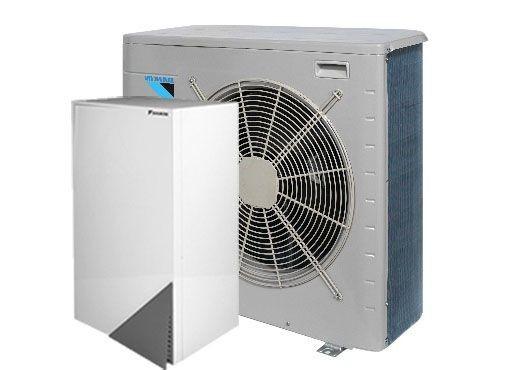 Daikin õhk‐vesi heat pump EHBX16CB9W/ERLQ016CAW1
